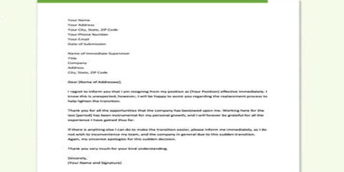 Whats A Resignation Letter from www.assignmentpoint.com