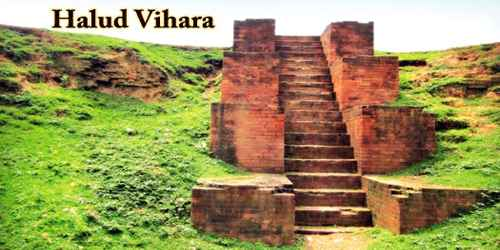 A Visit To A Historical Place/Building (Halud Vihara)