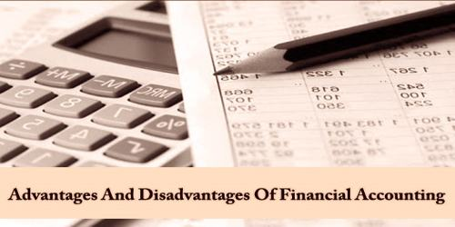 Advantages And Disadvantages Of Financial Accounting