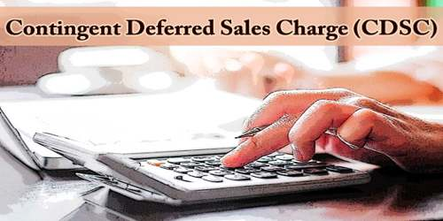 Contingent Deferred Sales Charge (CDSC)