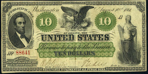 Demand Note – an United States Paper Money