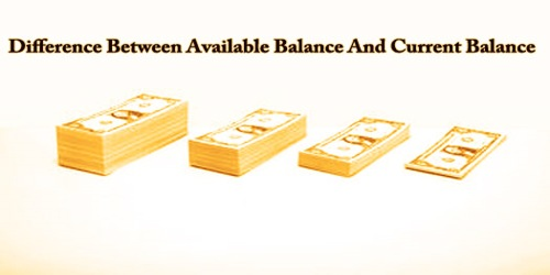 Difference Between Available Balance And Current Balance
