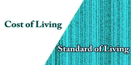 Difference Between Cost of Living And Standard of Living