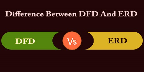 Difference Between DFD And ERD