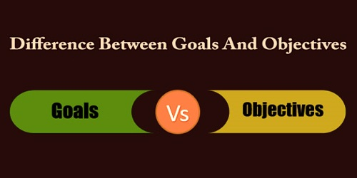 Difference Between Goals And Objectives