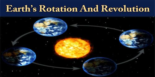 Earth's Rotation And Revolution
