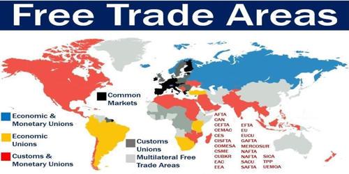 Free-trade Area in Economics