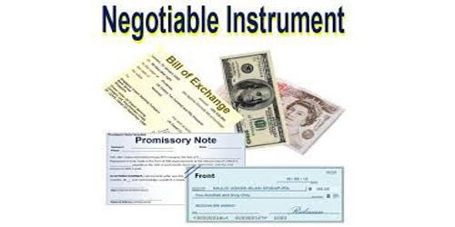 Negotiable Instrument (Document)