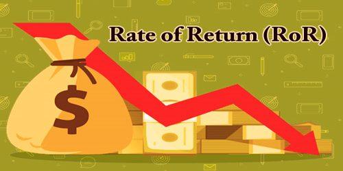 Rate of Return (RoR)
