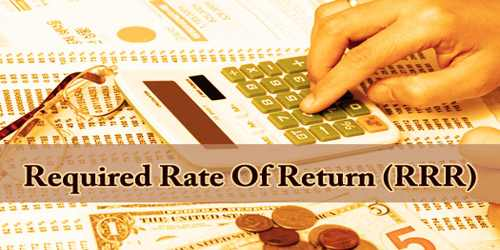 Required Rate Of Return (RRR)