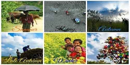 Six Seasons of Bangladesh