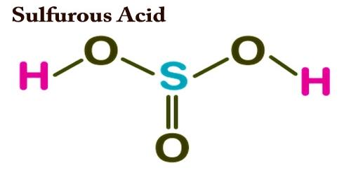 Sulfurous Acid