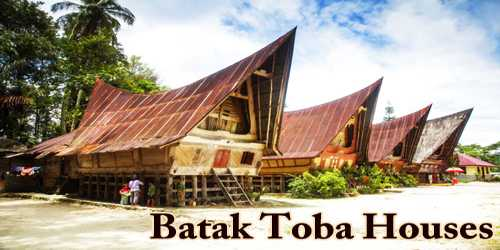 A Visit To A Historical Place/Building (Batak Toba Houses)