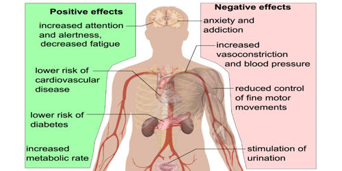 Beneficial and Negative effects of Caffeine – an Open Speech