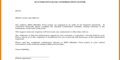 Confirmation Request Letter of the Receipt of Resume