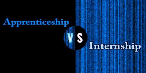 Difference Between Apprenticeship And Internship
