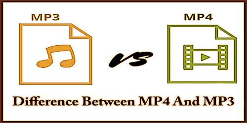 Difference Between MP4 And MP3