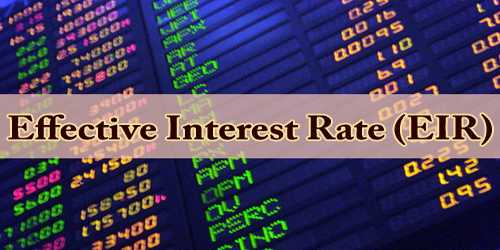 Effective Interest Rate (EIR)