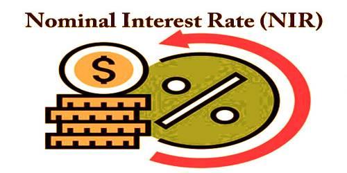 Nominal Interest Rate (NIR)