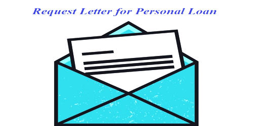 Request Letter for Personal Loan