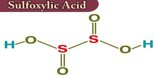 Sulfoxylic Acid
