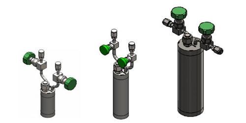 Bubbler Cylinder