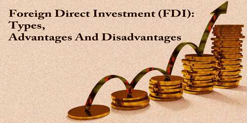 Foreign Direct Investment: Types, Advantages And Disadvantages