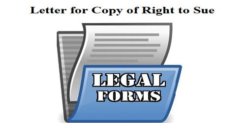 Request Letter for Copy of Right to Sue