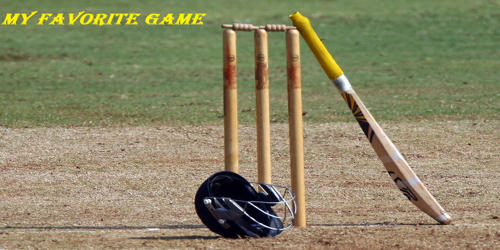 Cricket – My Favorite Game