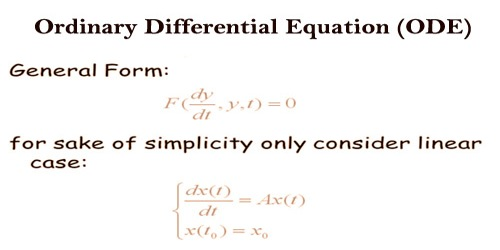 Ordinary Differential Equation (ODE)