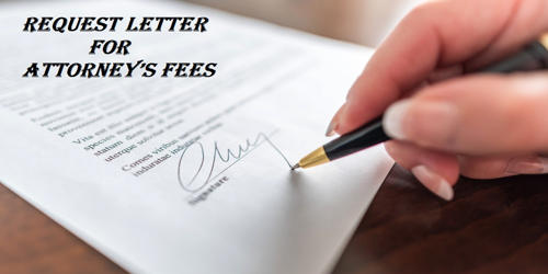 Request Letter for Attorney's Fees