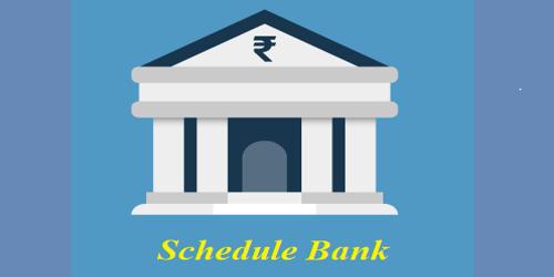 Schedule Bank