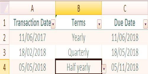 Transaction Date