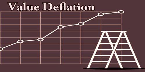 Value Deflation