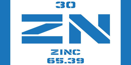 Zinc – a Chemical Element