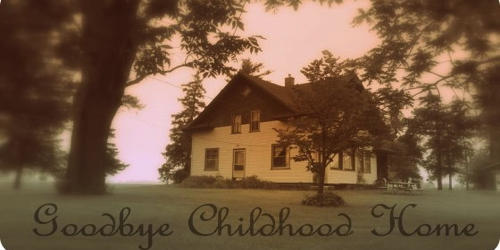 My childhood home – my special memories