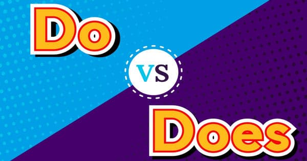 Difference between Do and Does