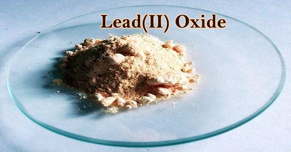 Lead(II) Oxide