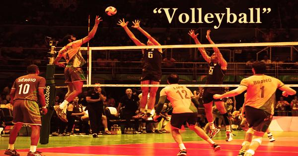 "My Favorite Game Is ""Volleyball"""