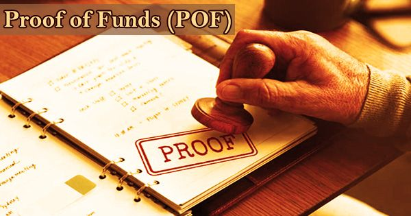 Proof of Funds (POF)