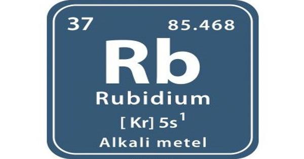 Rubidium – a chemical element