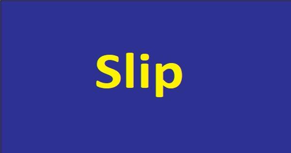 Slip – an Open Speech