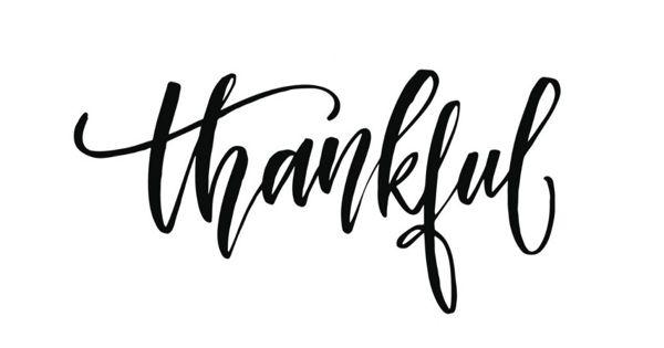 Thankful – an open Speech
