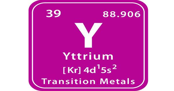 Yttrium – a chemical element
