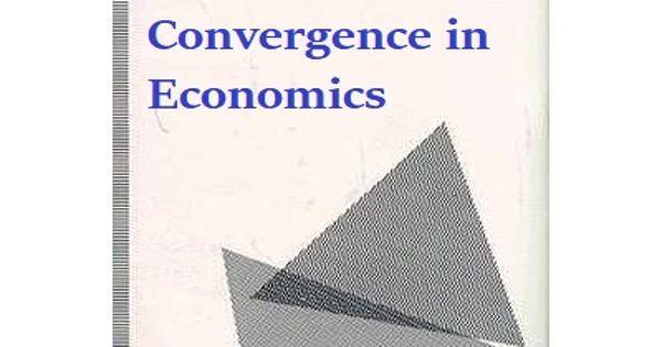 Convergence in Economics