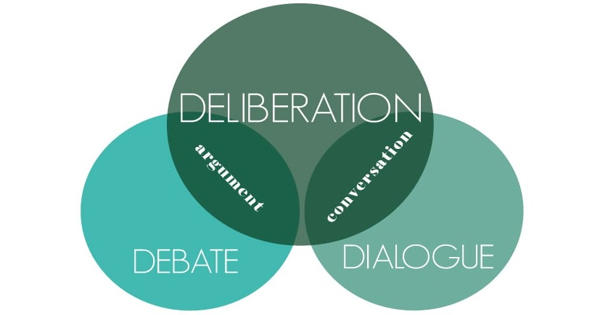 Deliberation – an Open Speech