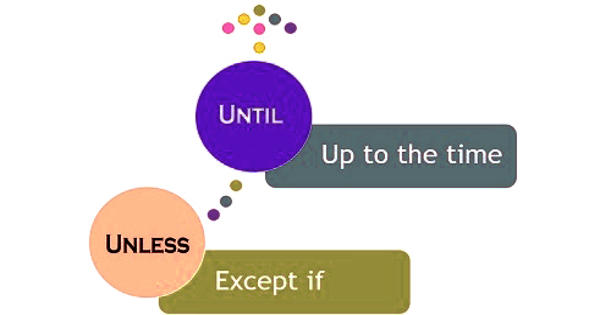 Difference Between Unless and Until