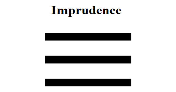Imprudence – an Open Speech