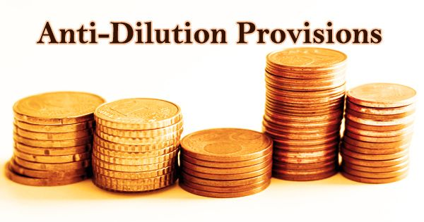 Anti-Dilution Provisions