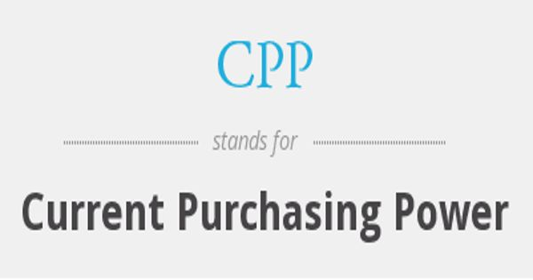 Characteristics of Current Purchasing Power (CPP) Method